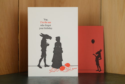 $4.99 THE ASS WHO FORGOT YOUR BIRTHDAY CARD