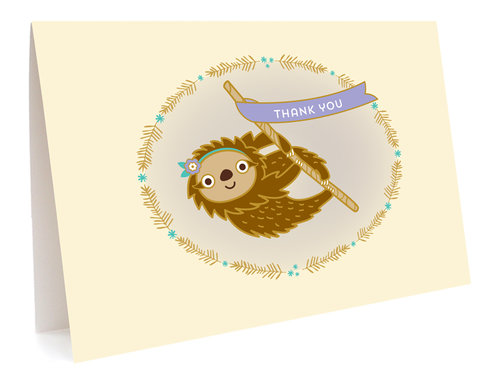 $11.49 SLOTH THANK YOU CARD BOX SET