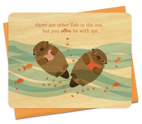 $5.99 OTTER LOVE CARD
