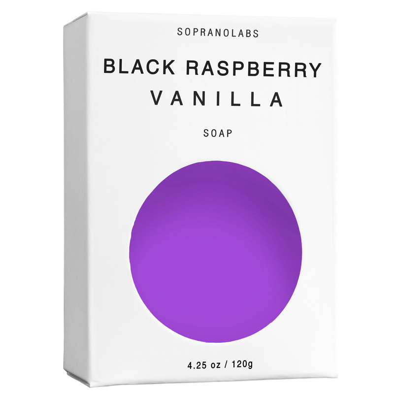 $9.99 BLACK RASPBERRY VANILLA VEGAN SOAP