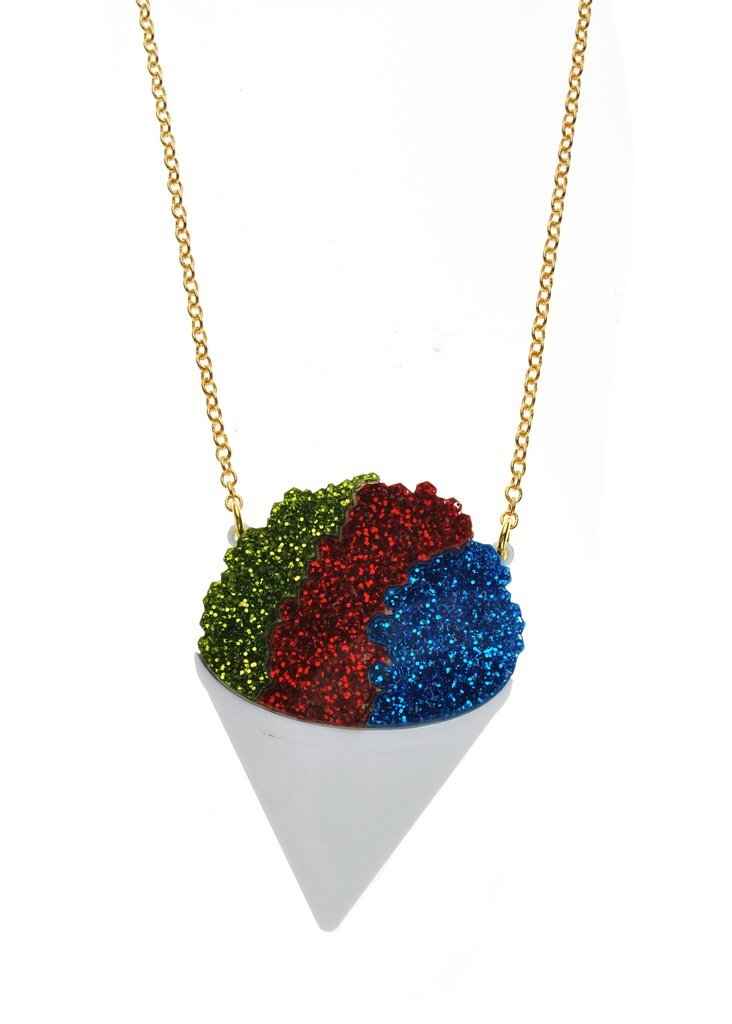 $38.99 SNOW CONE NECKLACE