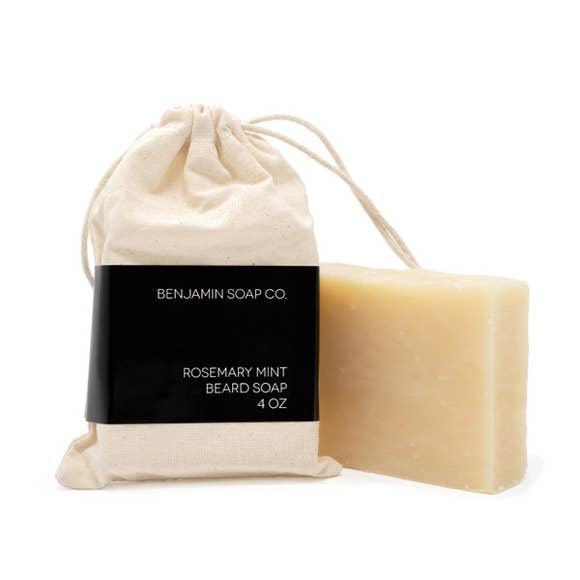 $15.99 ROSEMARY MINT BEARD SOAP