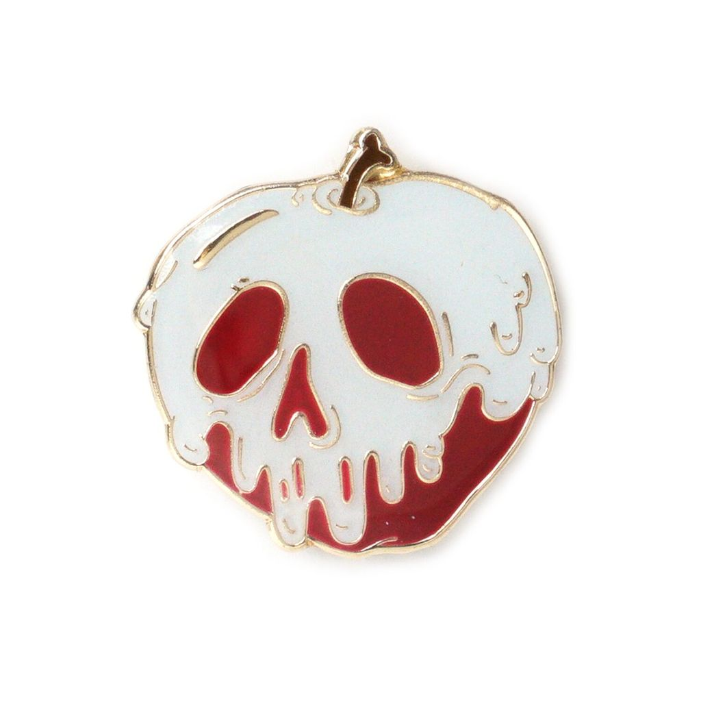 $9.99 POISON APPLE GLOW IN THE DARK PIN