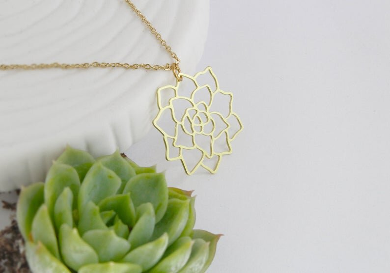 $29.99 SUCCULENT NECKLACE