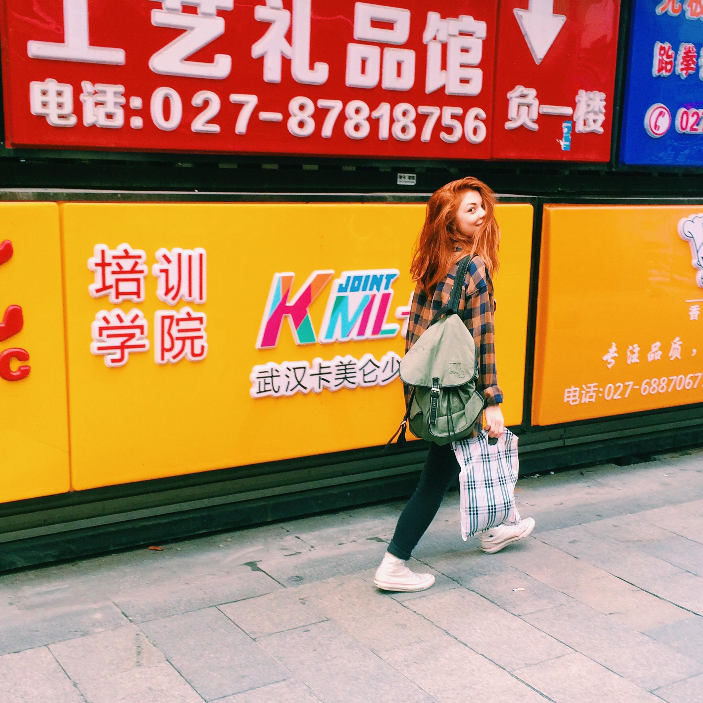 Shopping in Wuhan!!