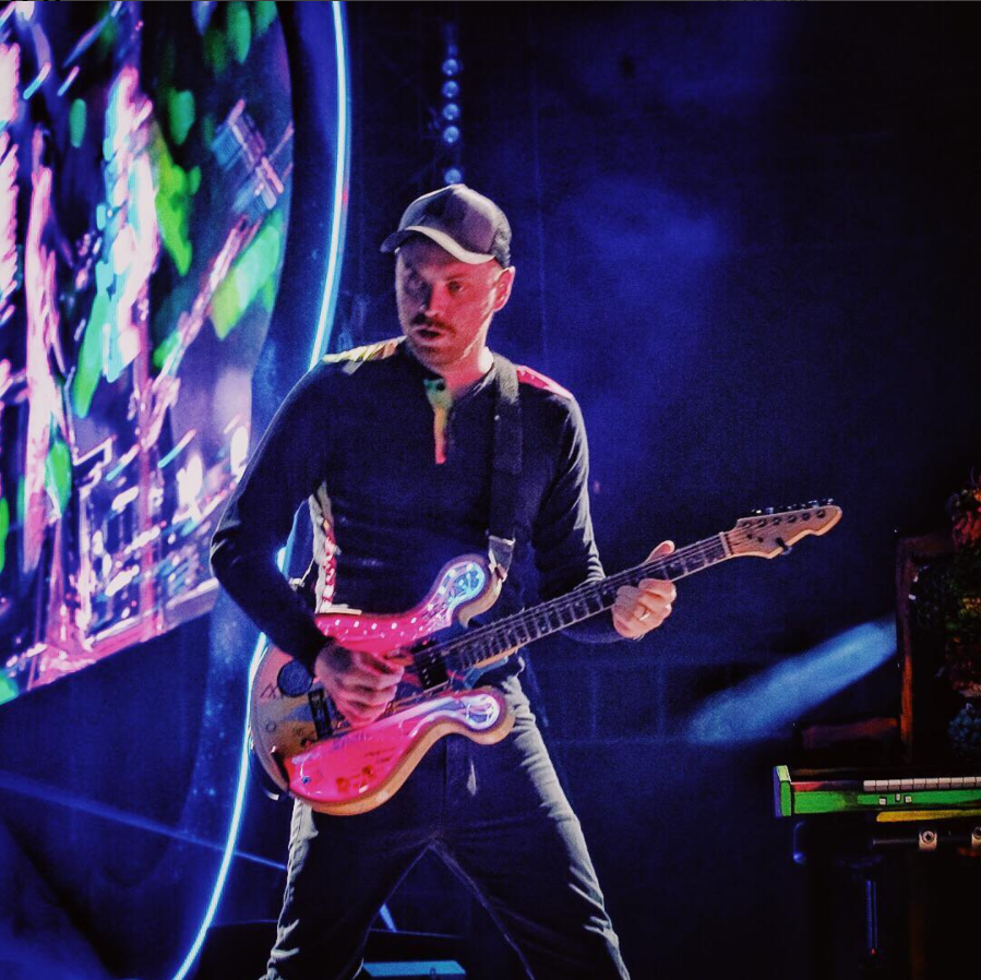 Image courtesy of Coldplay and Roadie #42