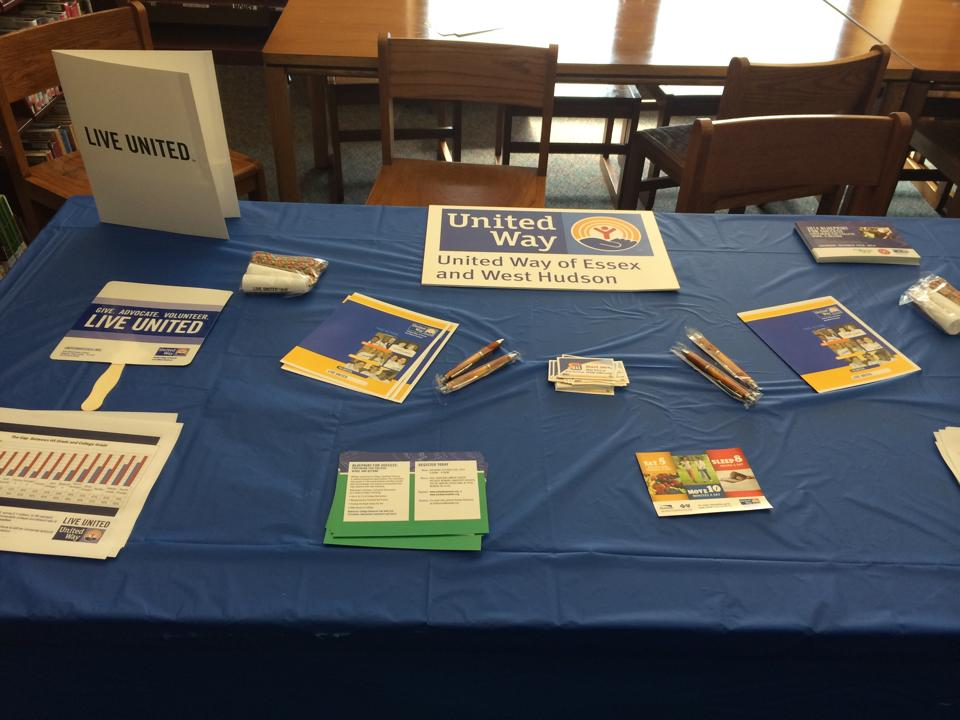 Promoting Blueprint for Success at the Springfield Library.jpg