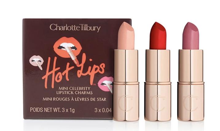 Mini Celebrity lipstick trio
