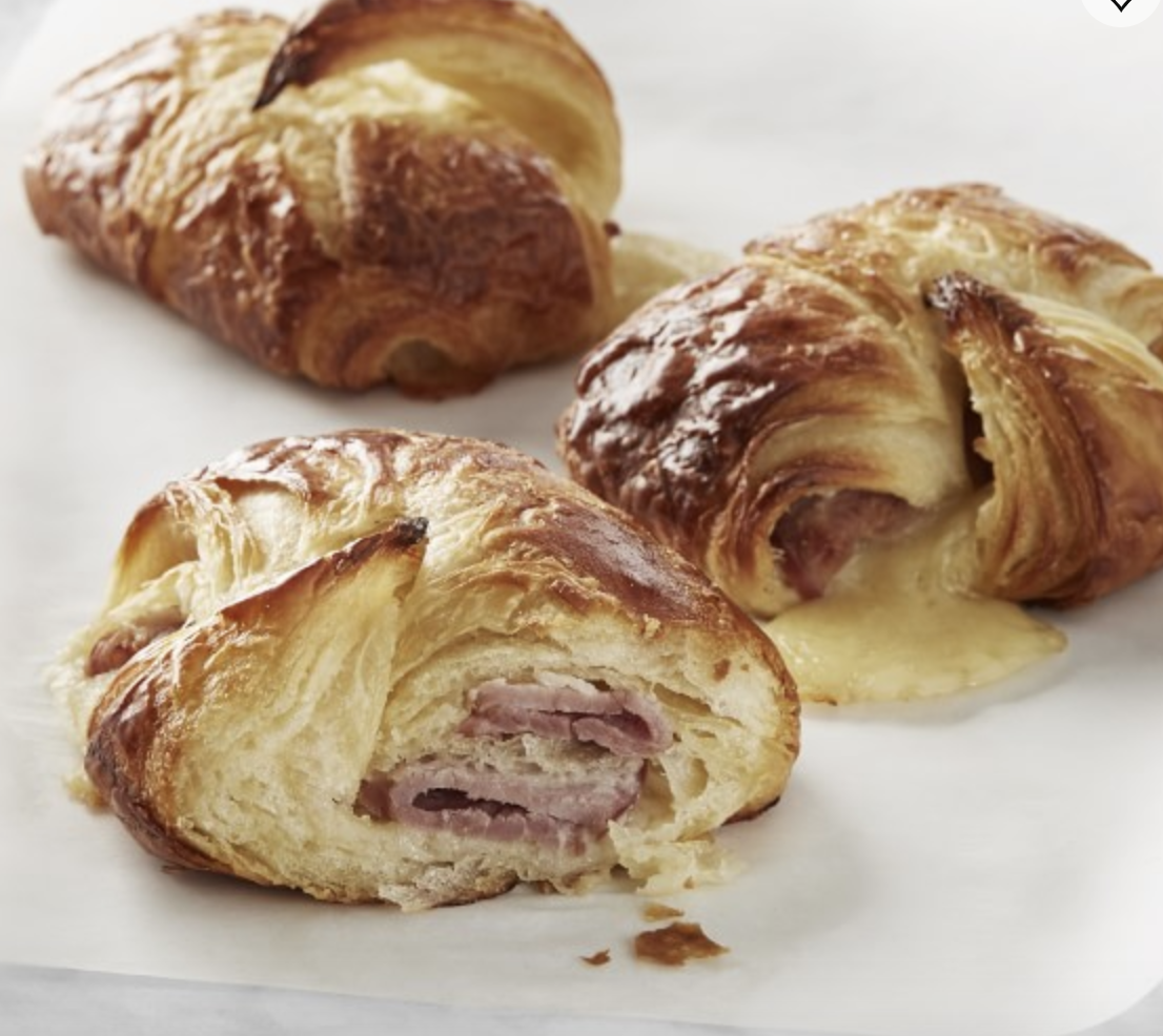 Best Ham and Cheese Croissants