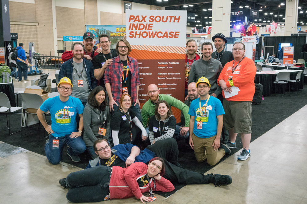 PAX South Indie Showcase class of 2017