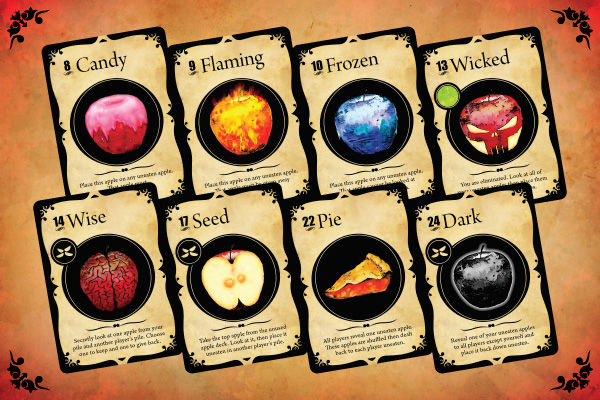 Awesome playing cards from Wicked Apples