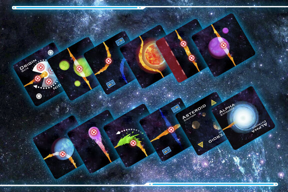 Space Chase tiles woohoo!