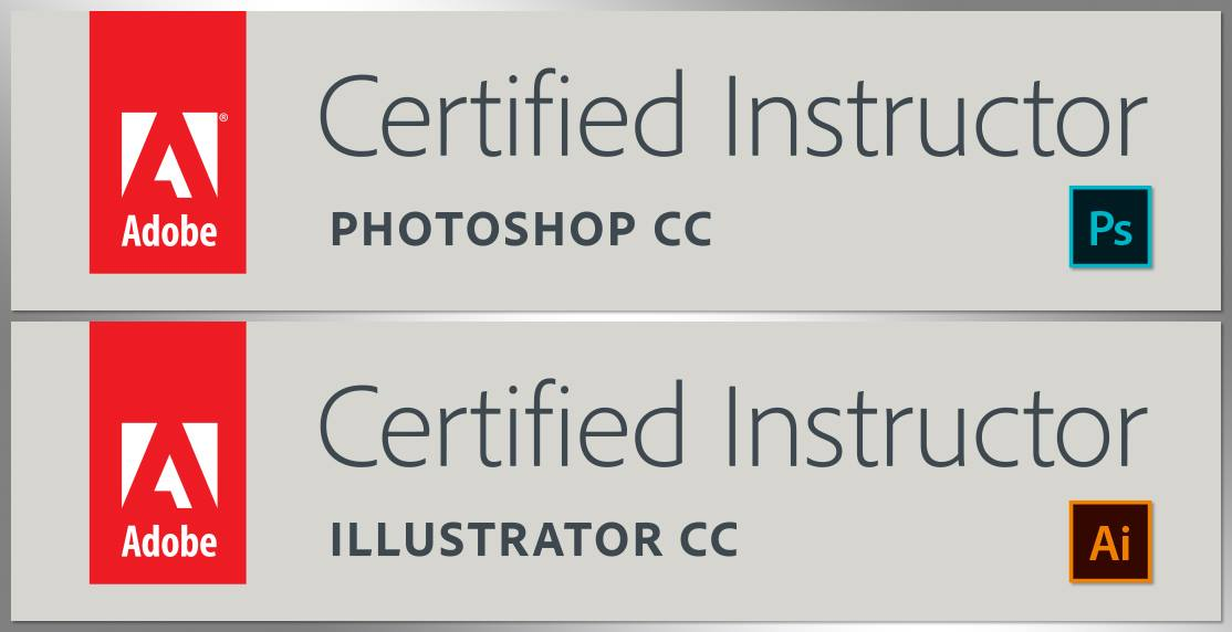 Adobe Certified Instructor in Photoshop and Illustrator