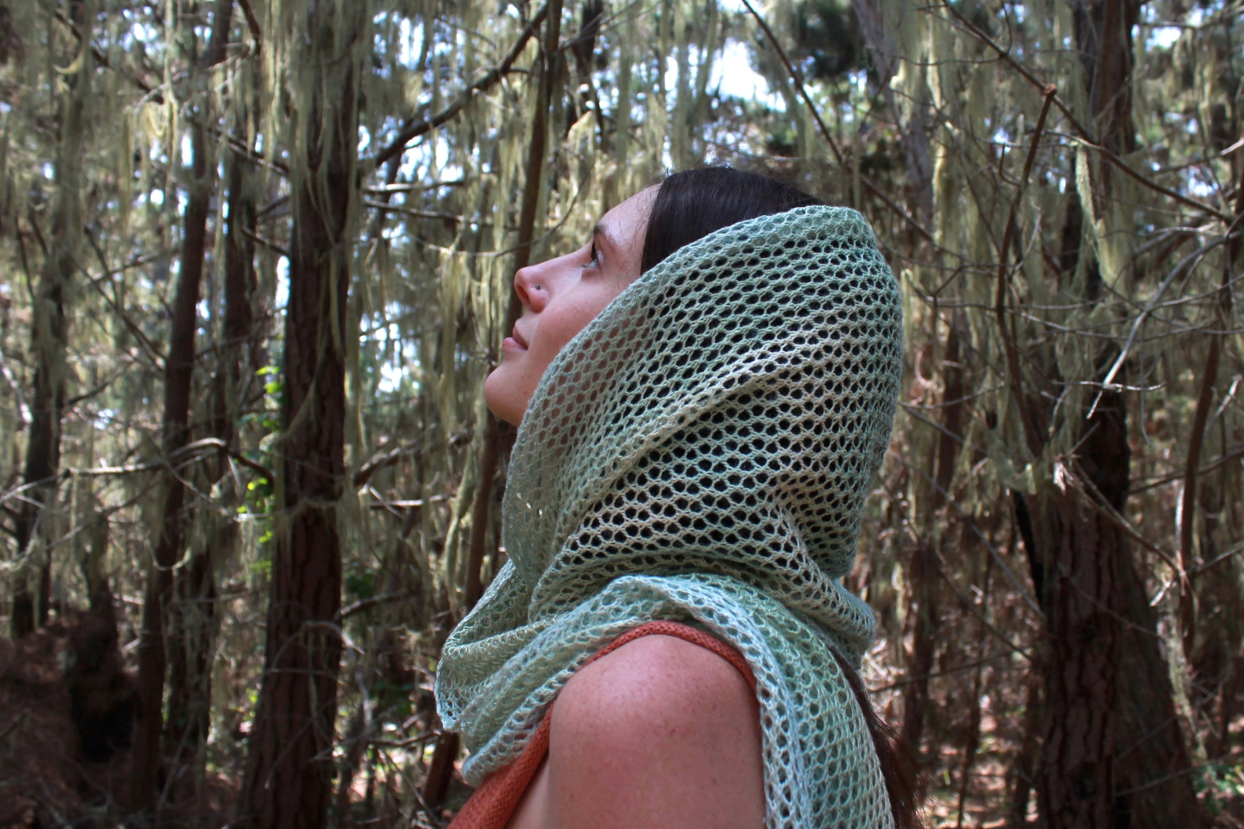 Silk Lace Scarf Hand Made in the USA by Myth of the West
