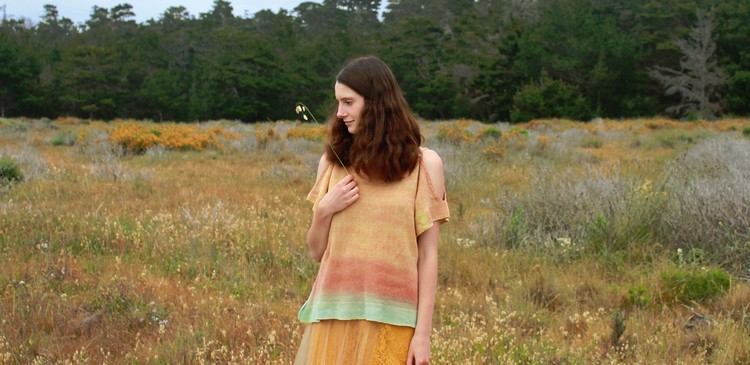 Myth of the West Savannah Hand Knit Wool Top Sale