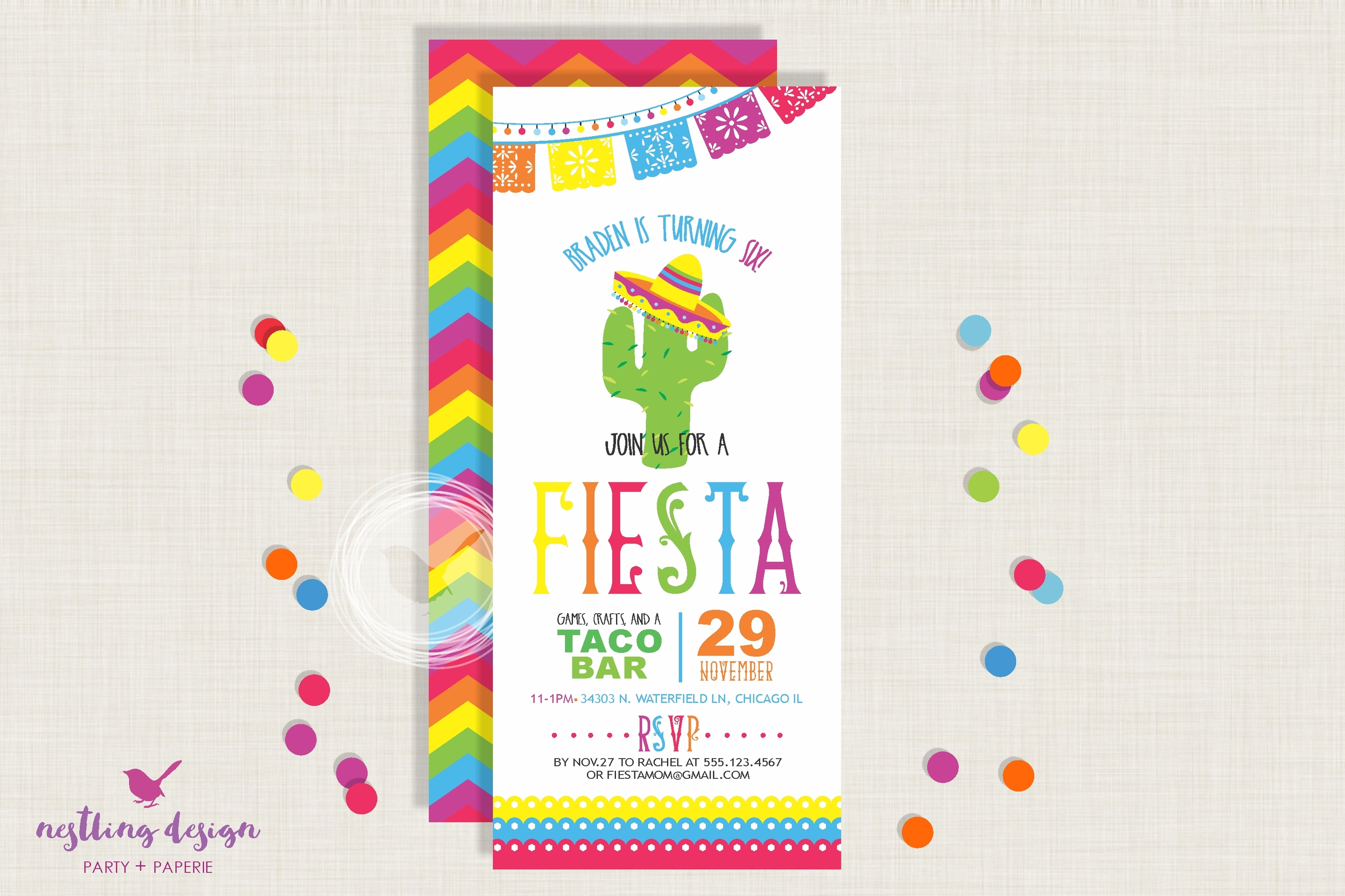 Fiesta Invitation Set