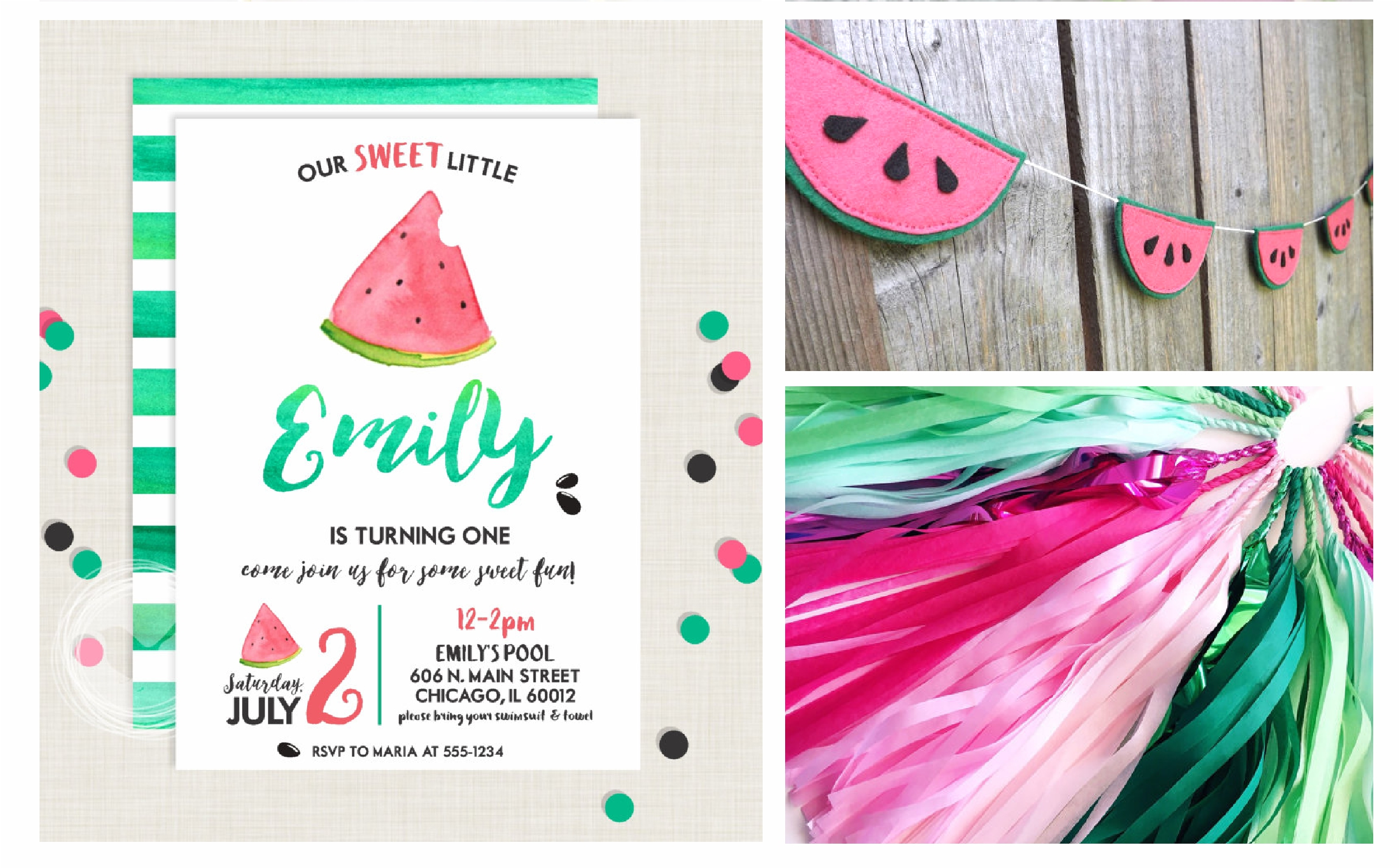 Nestling Design Watermelon Party