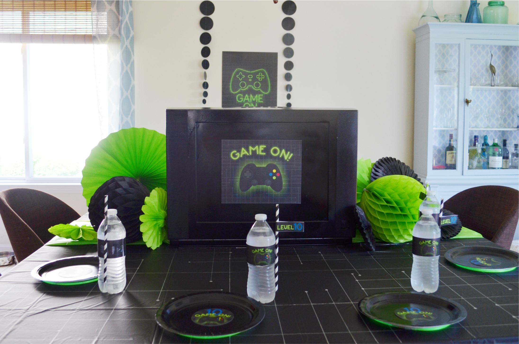Gamer Party   NestlingDesign.com