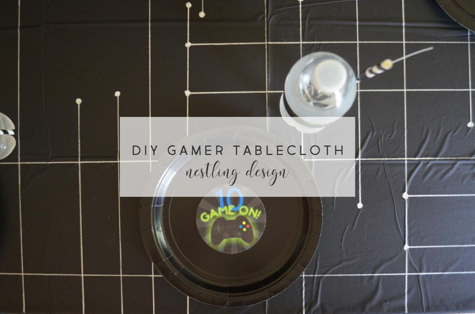 DIY Gaming Tablecloth