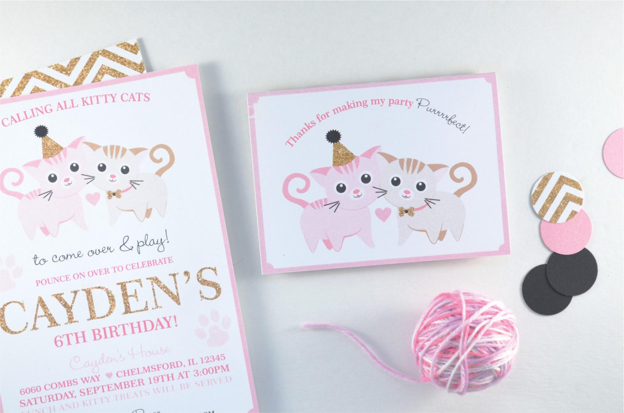 Kitty Cat Party | Nestling Design