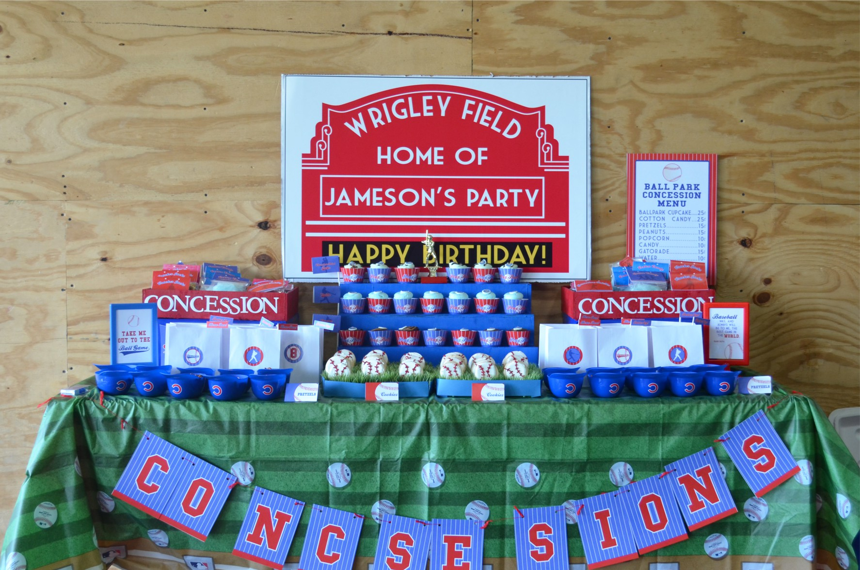 Baseball Party | NestlingDesign.com