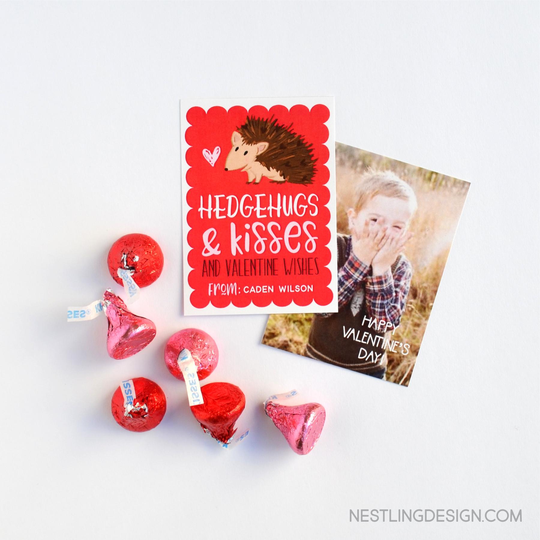 Adorable valentines for children | NestlingDesign.com