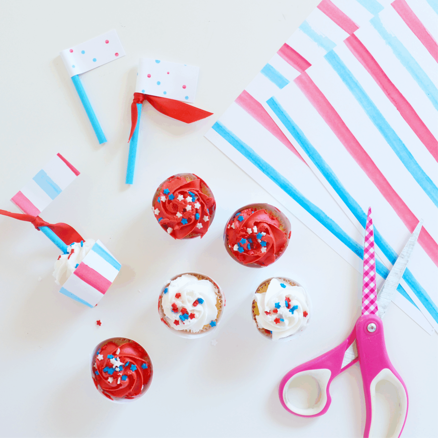 4th of July Patterned Paper