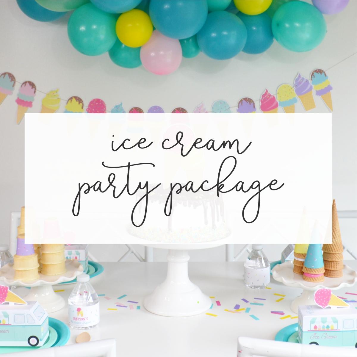 Ice Cream Party | Nestling Design