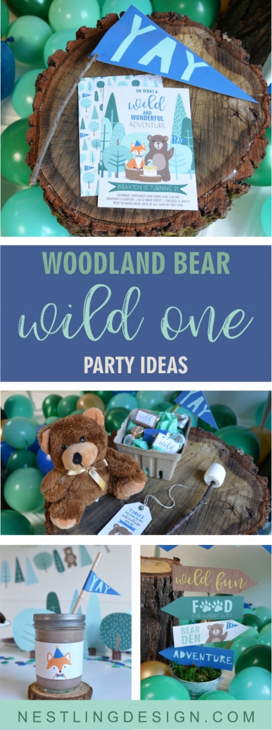 Wild One Party Ideas | Nestling Design