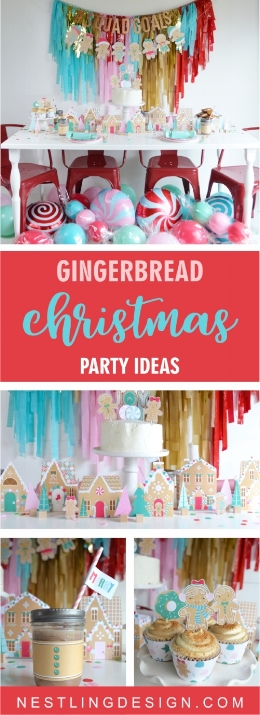Gingerbread Christmas Party