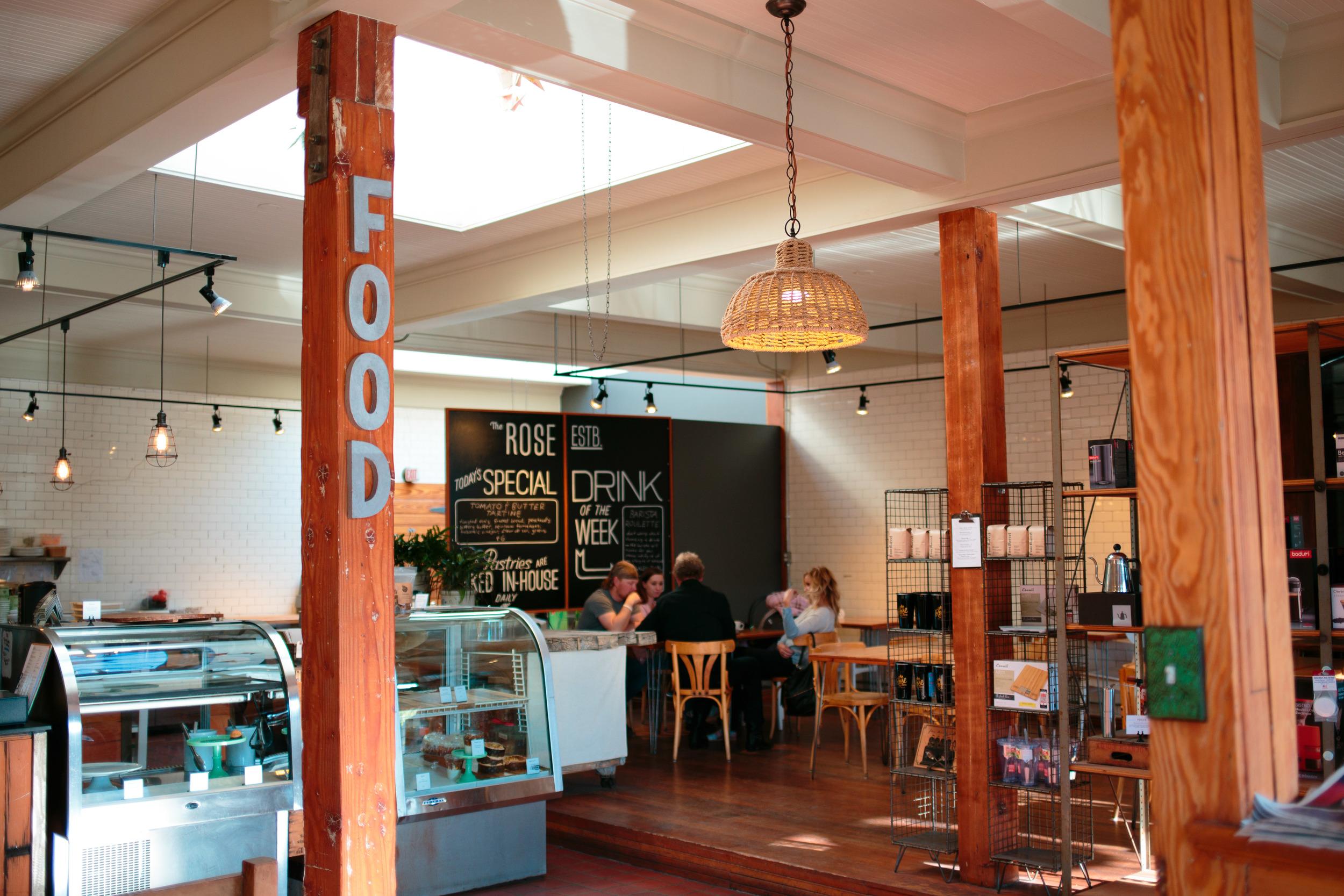Rose Establishment Reclaimed Industrial Building Interior Design Cafe