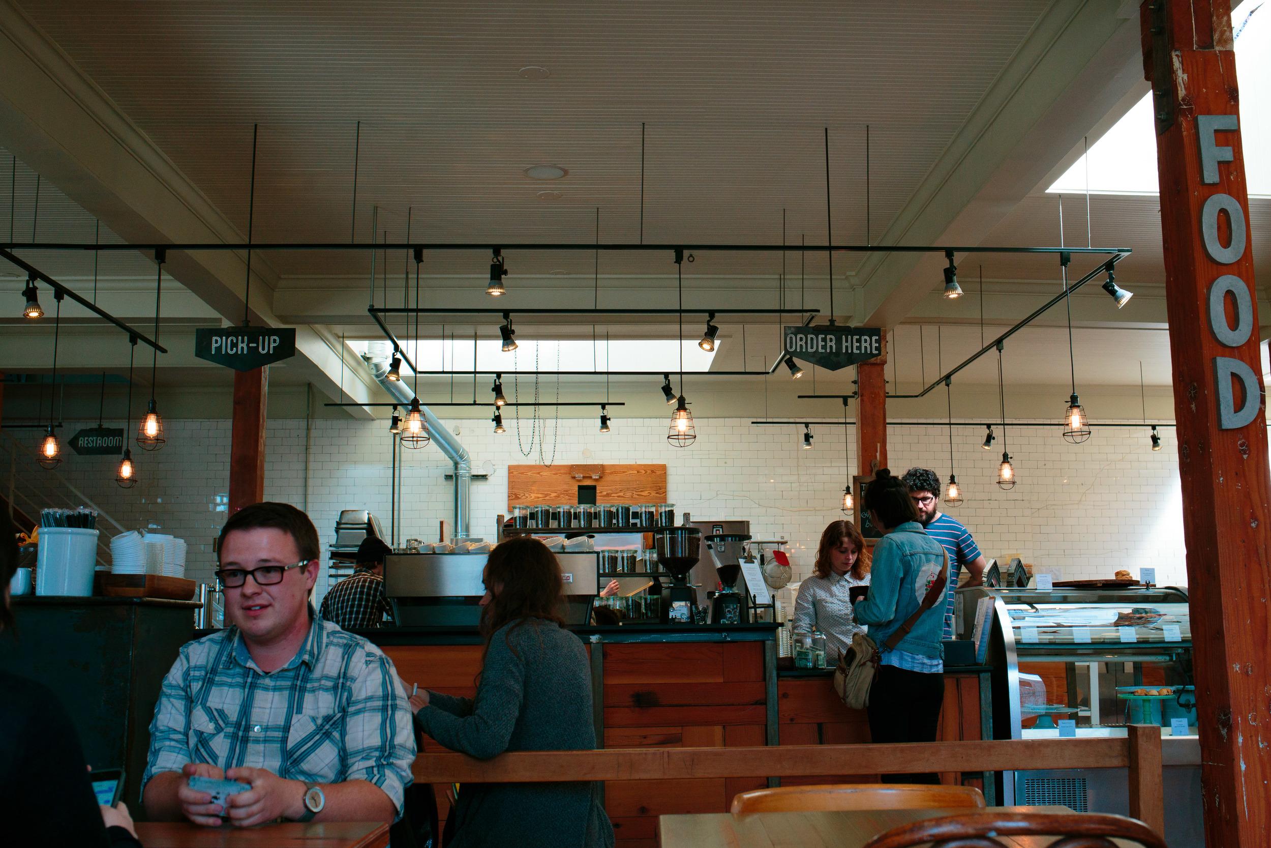 Patrons Rose Establishment Cafe Salt Lake City UT