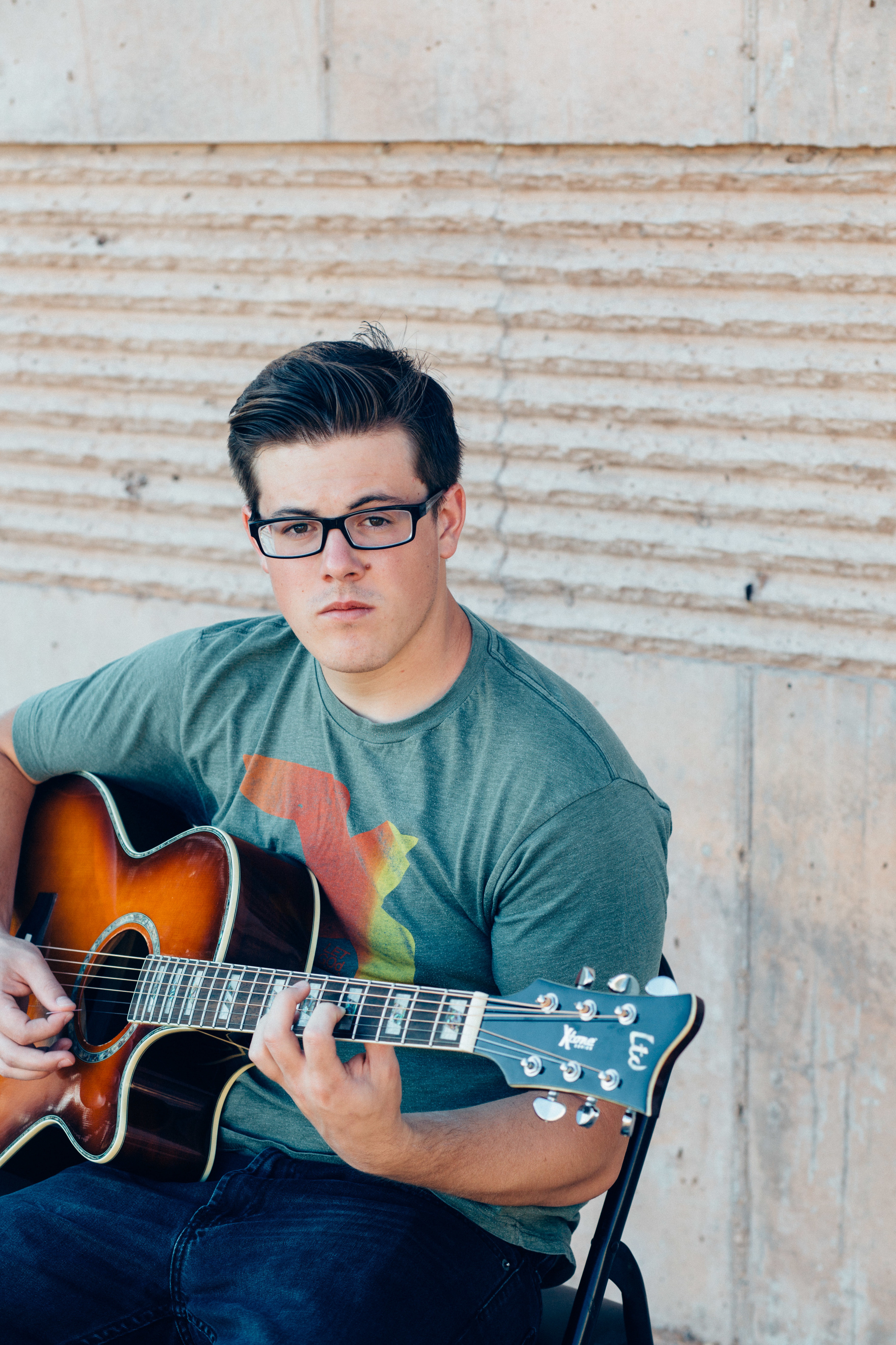 Musician close up guitar lifestyle photographer St George Utah