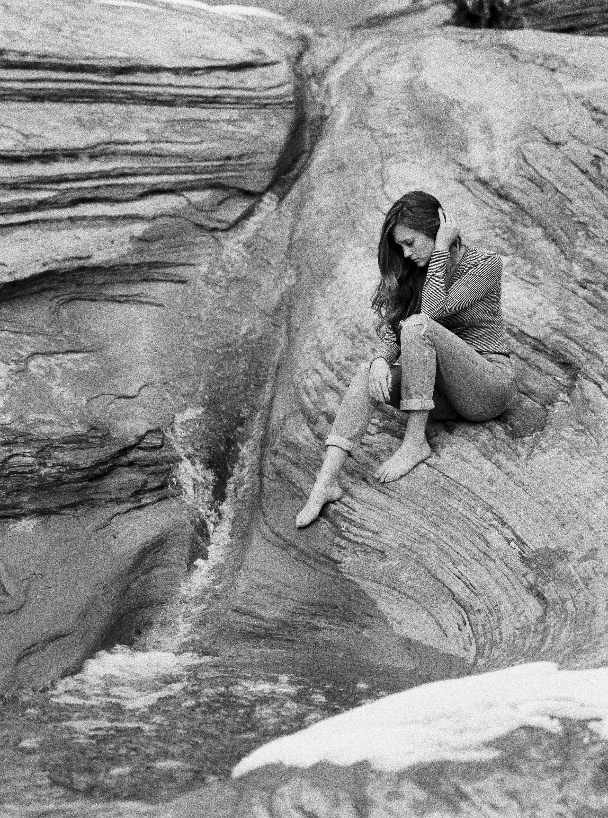 Zion National Park Fine Art Film Photographer Ilford HP5 plus