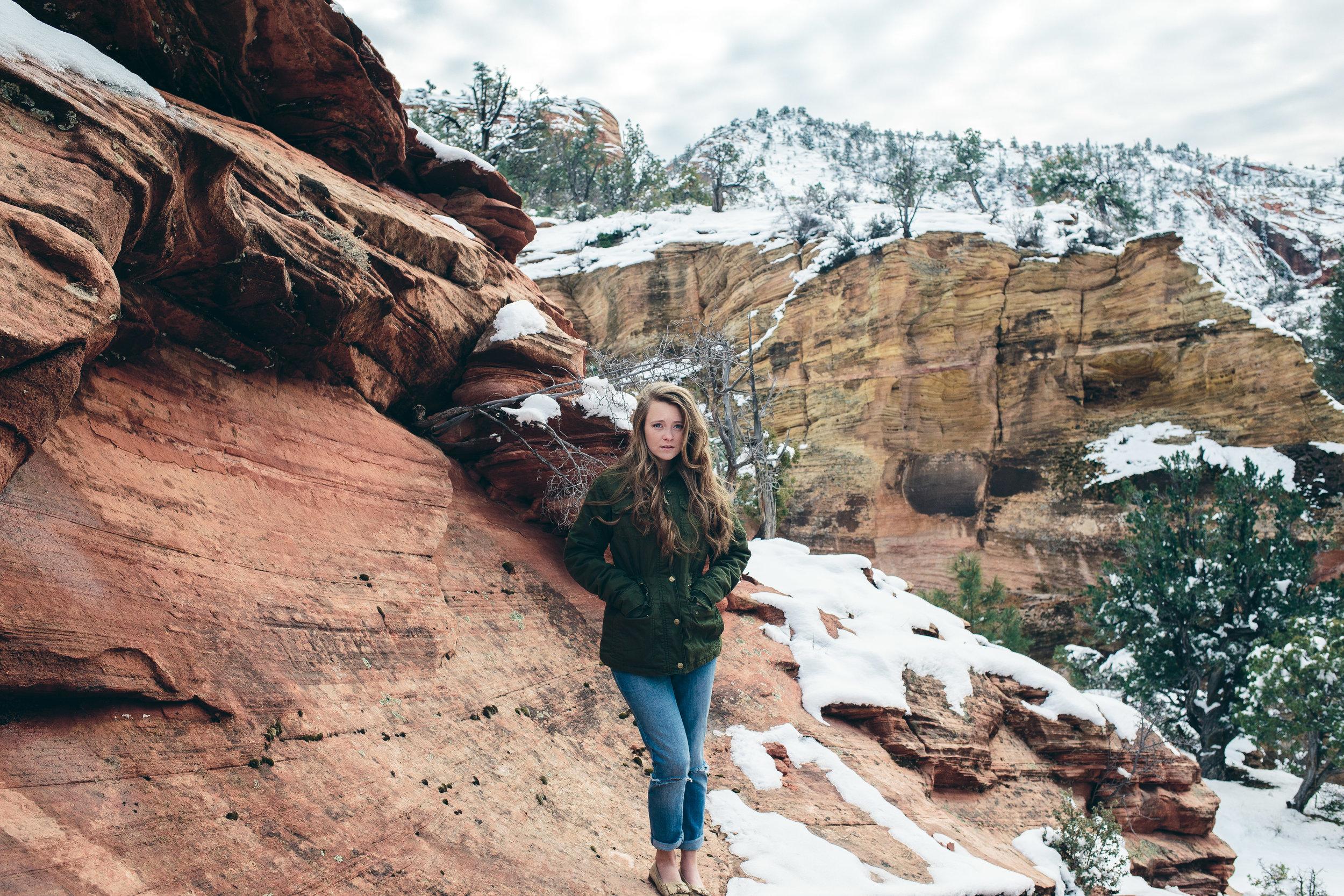 Zion National Park Fine Art Portrait Photographer