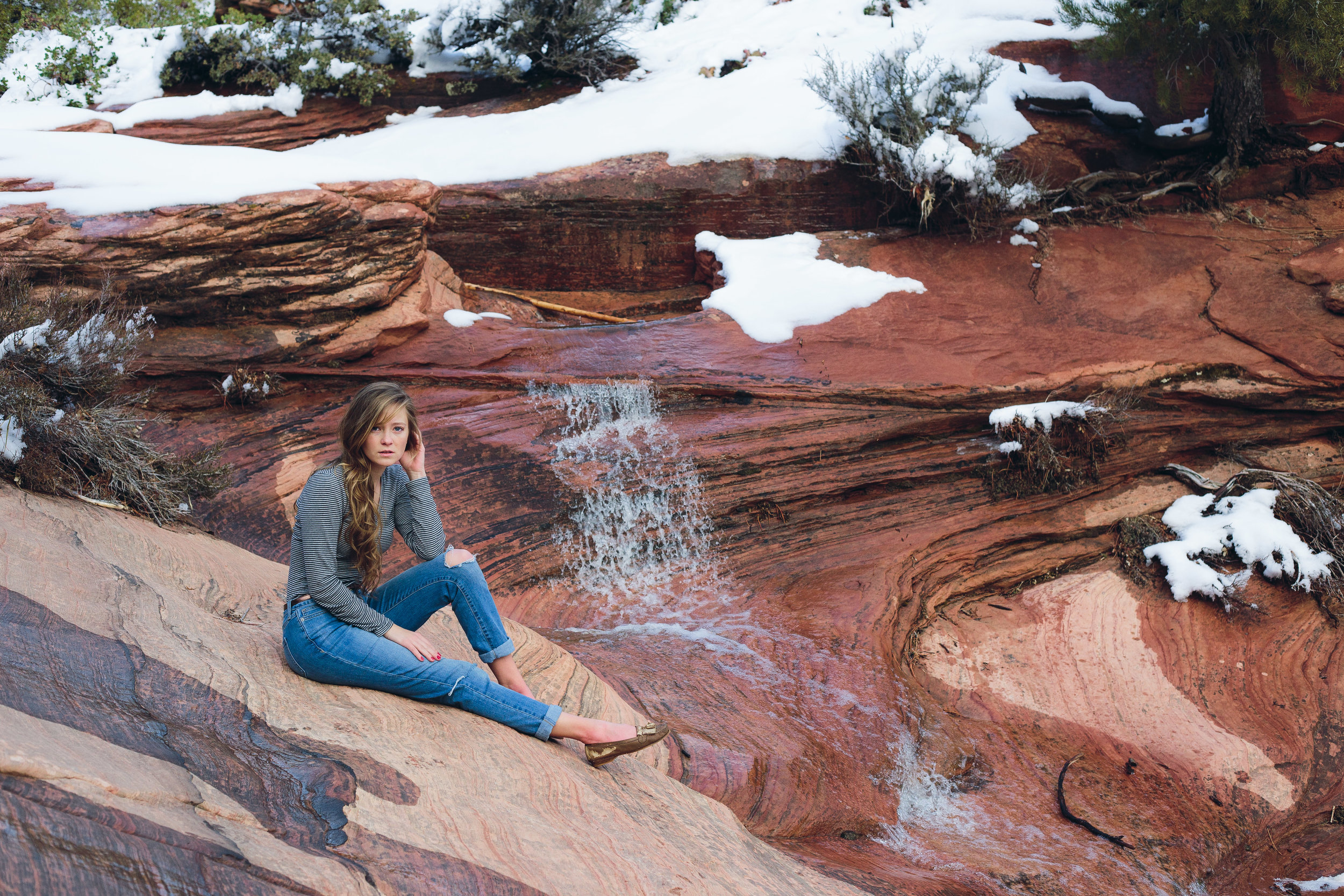 Zion National Park winter photography