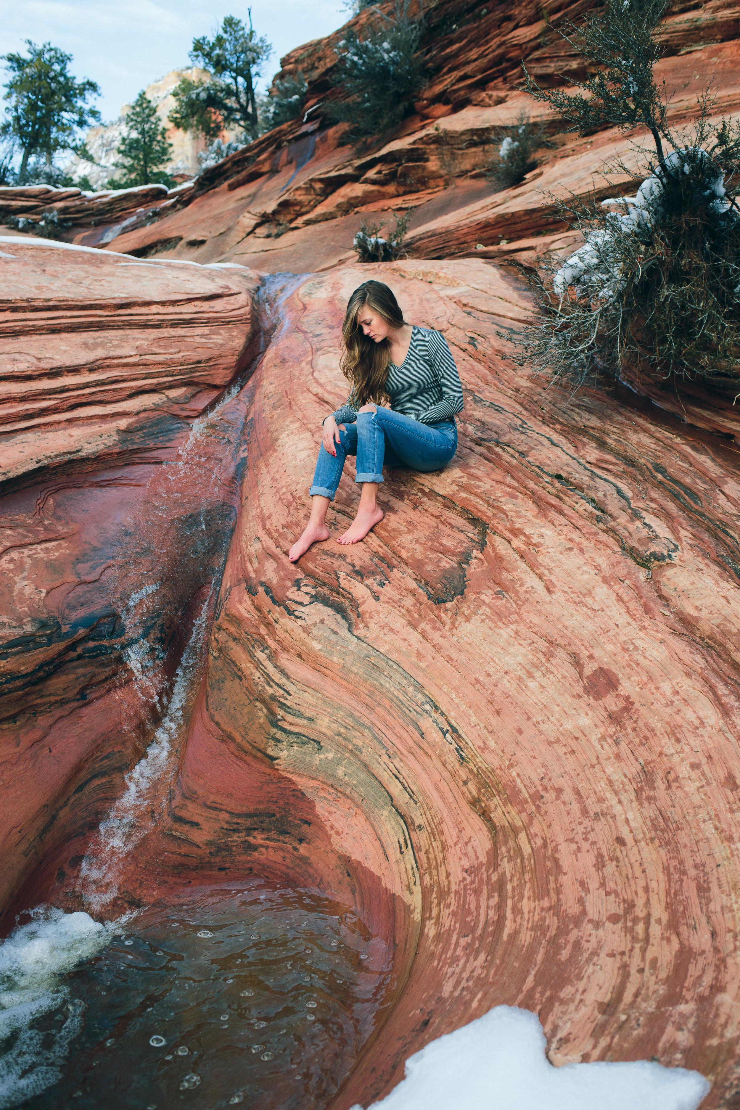 Zion National Park fine art adventure photography