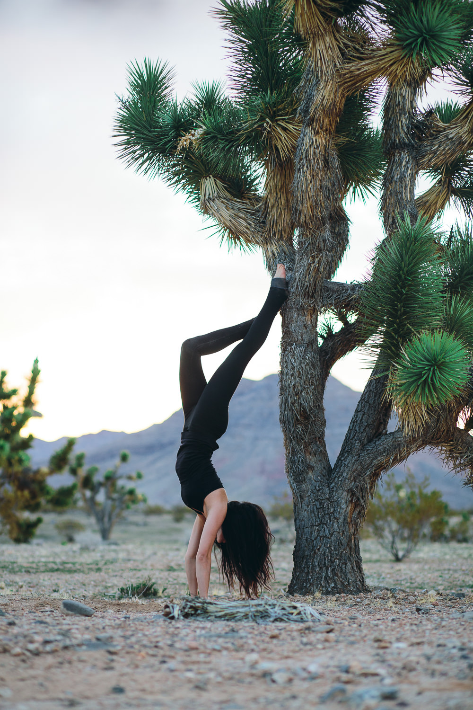 yoga in the desert Southern Utah Adventure photographer hybrid film and digital