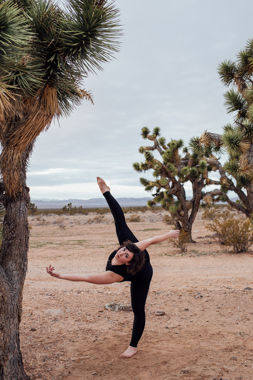 Dance portraits Southern Utah Adventure photographer hybrid film and digital