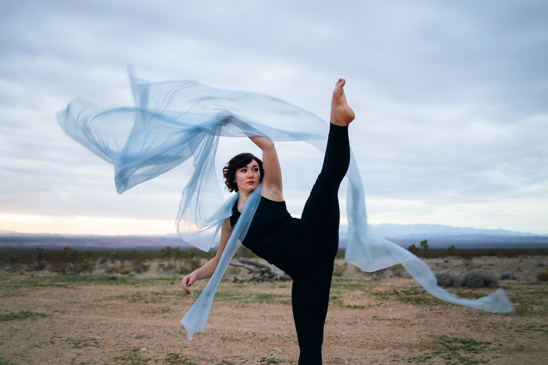 Silk dancer lifestyle Southern Utah Adventure photographer hybrid film and digital