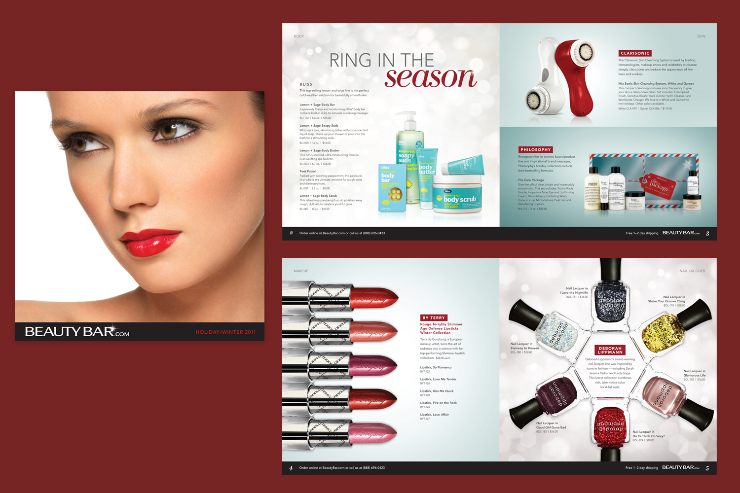 Holiday 2011 BeautyBar.com Catalog