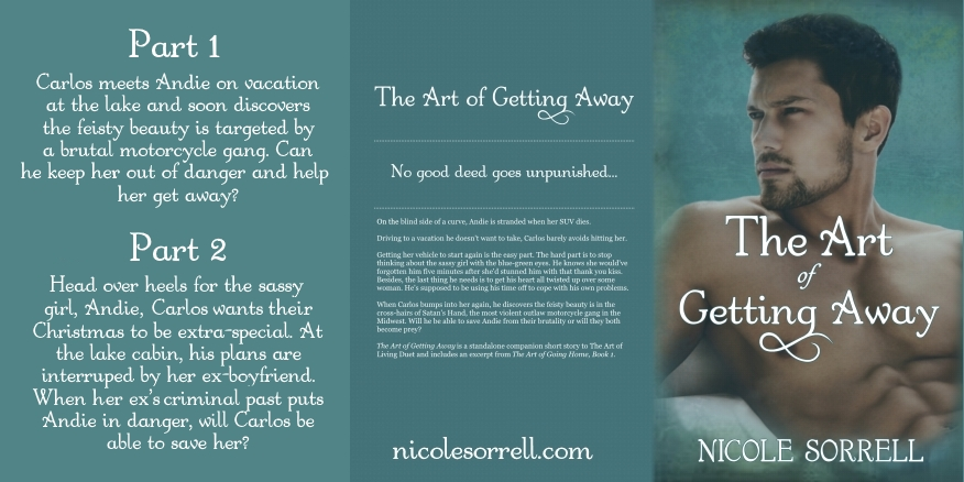 The Art of Getting Away Part 2, Nicole Sorrell, Romantic Suspense, 99 cents, Romance,.jpg