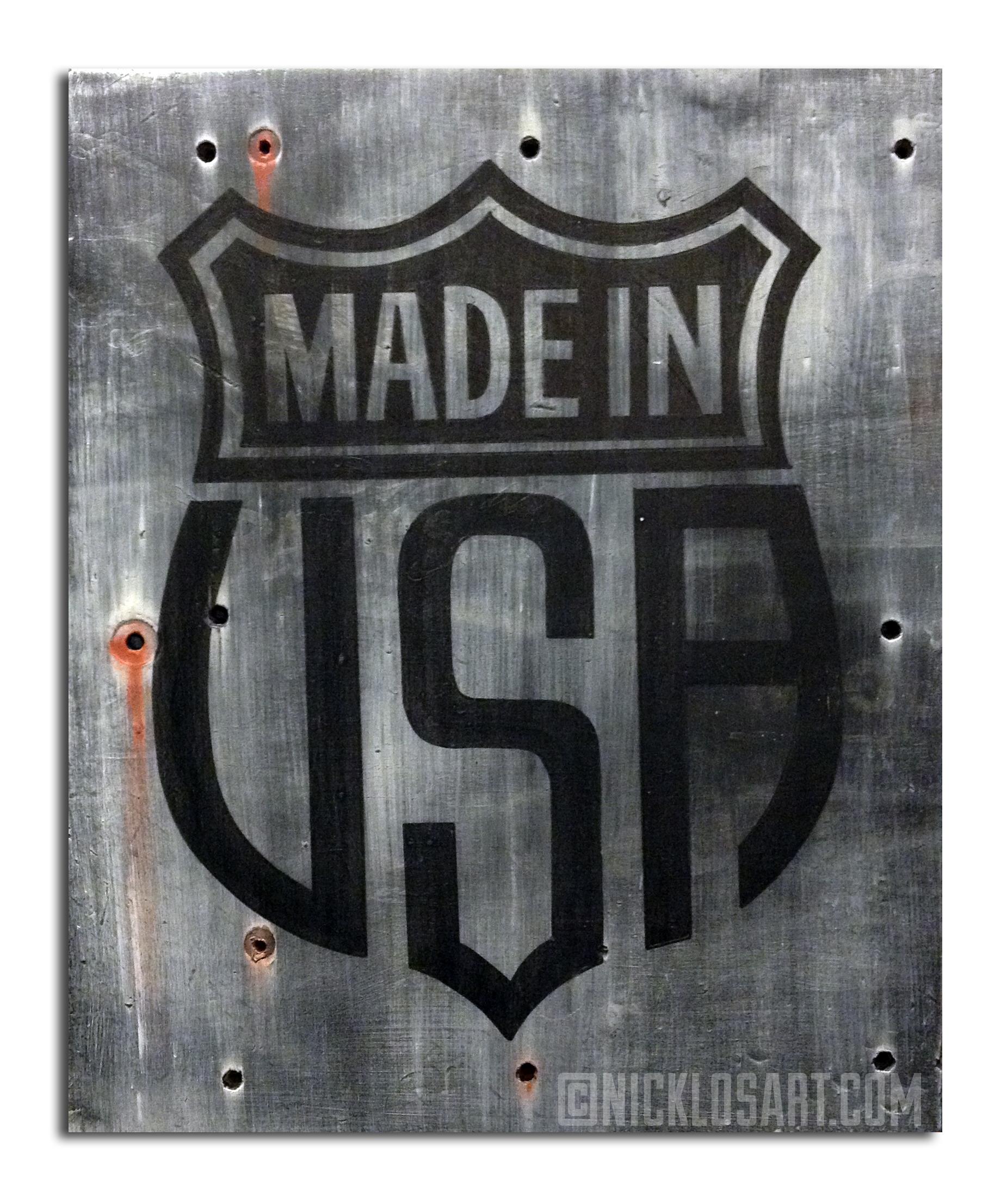 Made in USA Folk Art