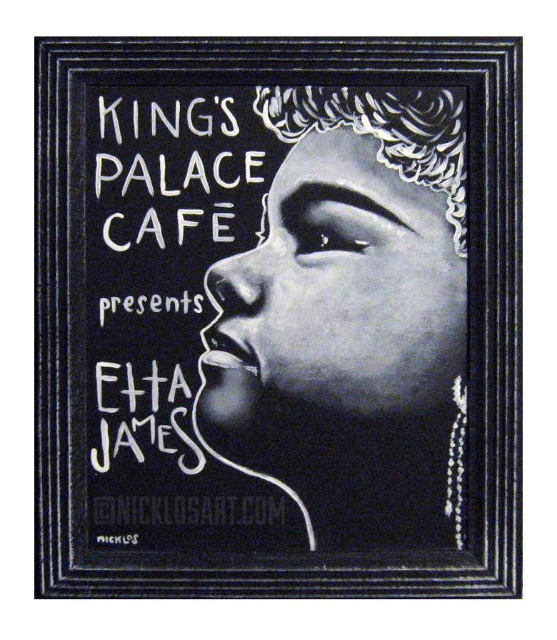 Etta James Folk Art