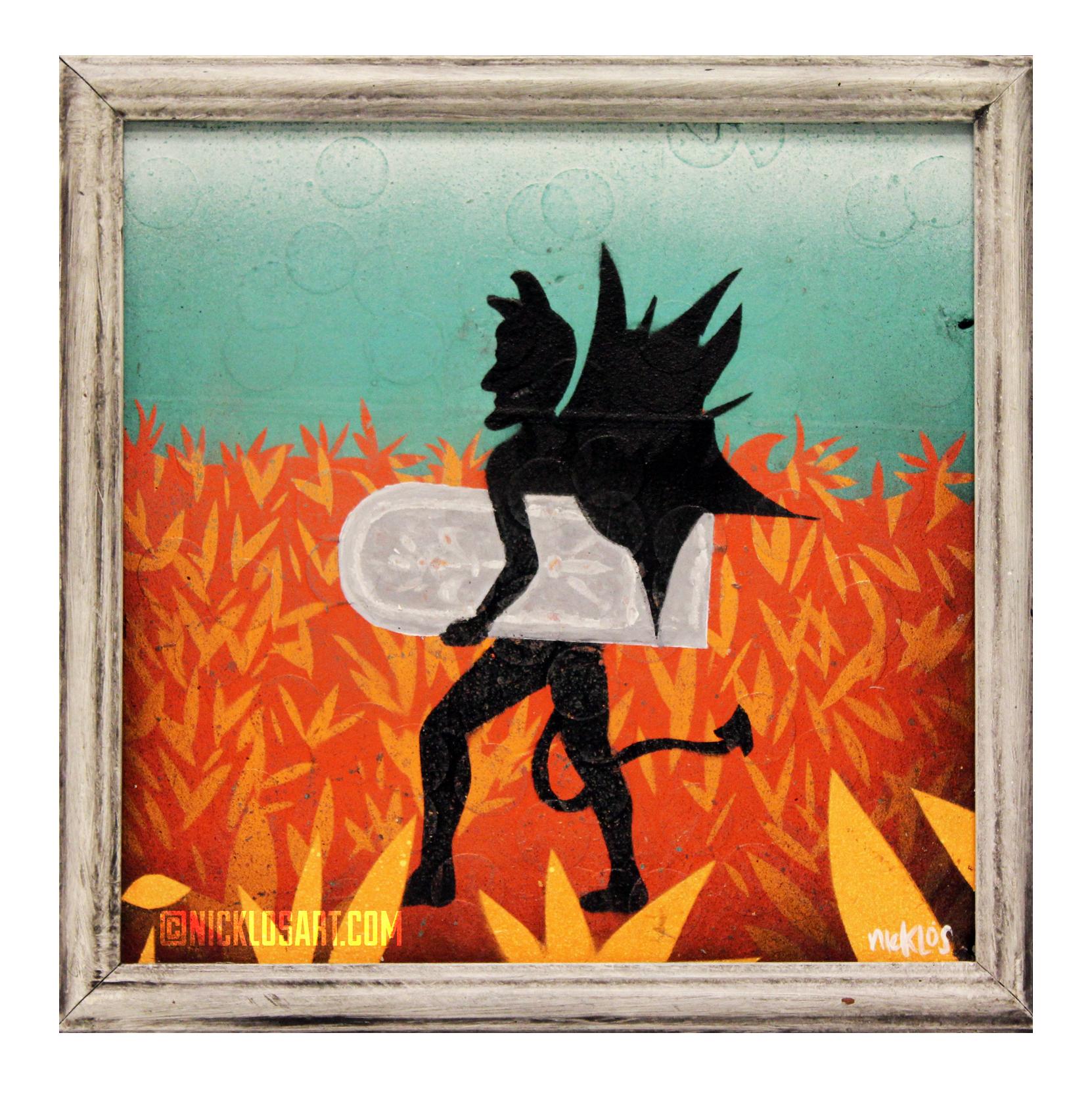 The Devil Folk Art