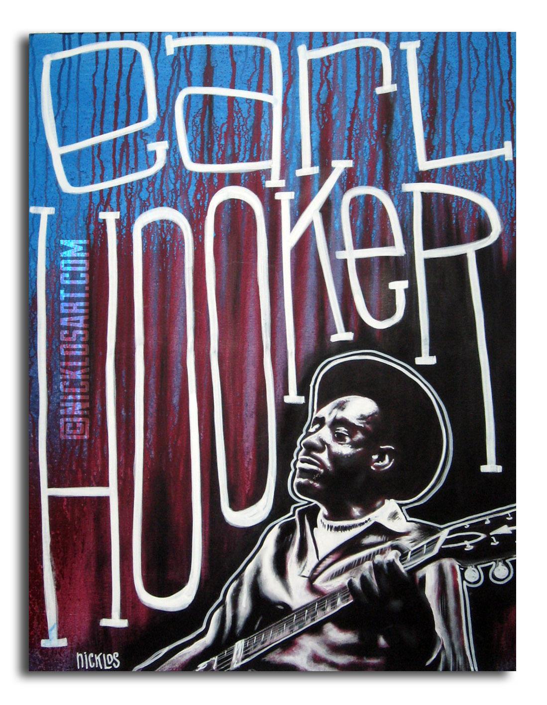 Earl Hooker Blues Art