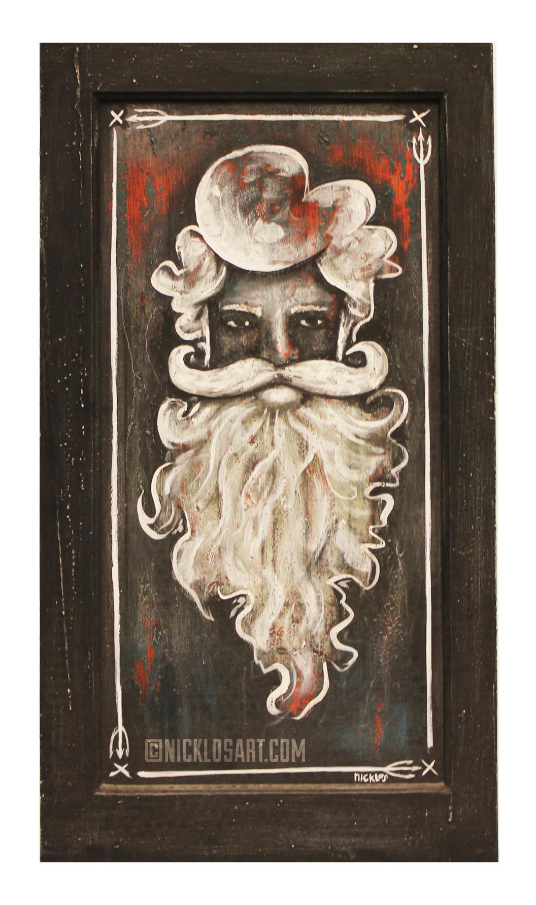 King Neptune Folk Art