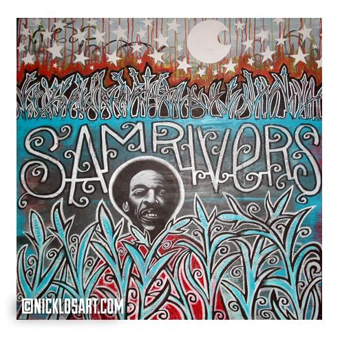 Sam Rivers Folk Art