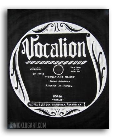 Vocalion Vinyl Folk Art