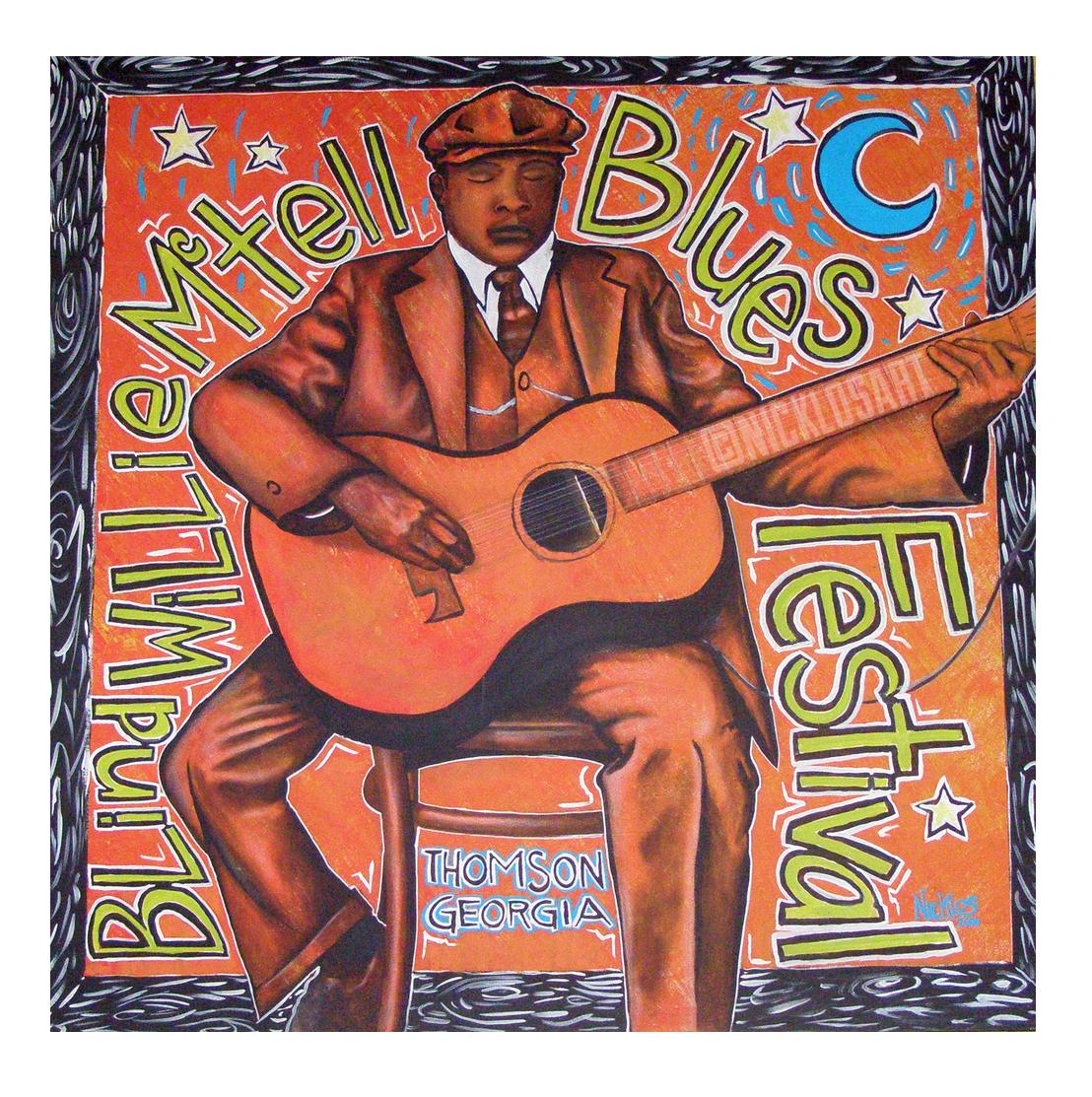 Blind Willie Folk Art